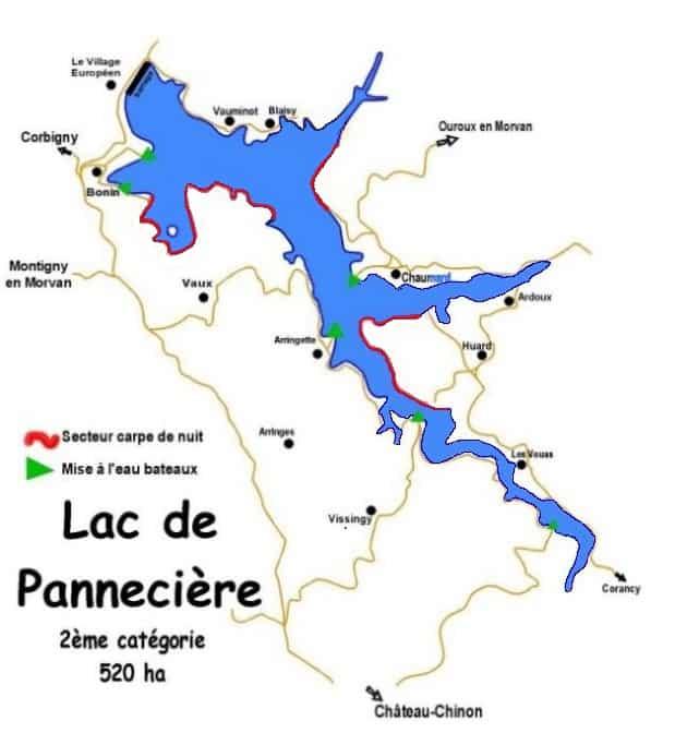 grands lacs france centre lac panneciere nievre