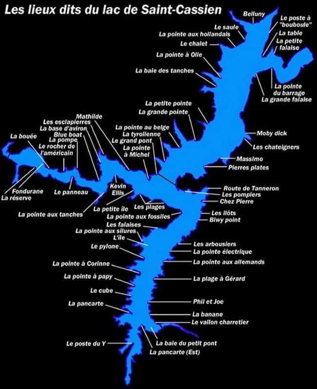 Lac de Saint-Cassien - Grand lac public – Le Var (83) 7