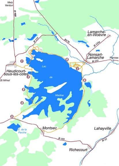 Lac de Madine - Grand lac public - La Meuse (55) 11