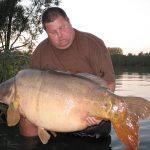 Carpe miroir 40,370 Kgs – Lac de Graviers (Luke Moffatt Lake) – Lac privé – Paul Meredith