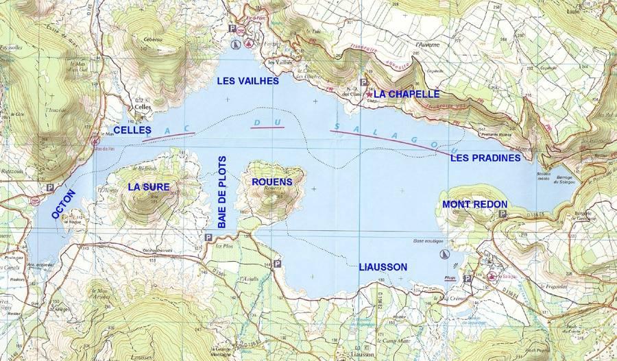 Lac du Salagou - Grand lac public - Hérault (34) 8