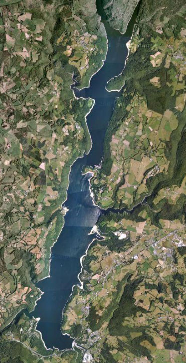 grands lacs france sud lac bort les orgues grand public correze