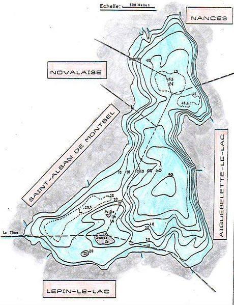 Lac d'Aiguebelette - Grand lac public - Savoie (73) 1