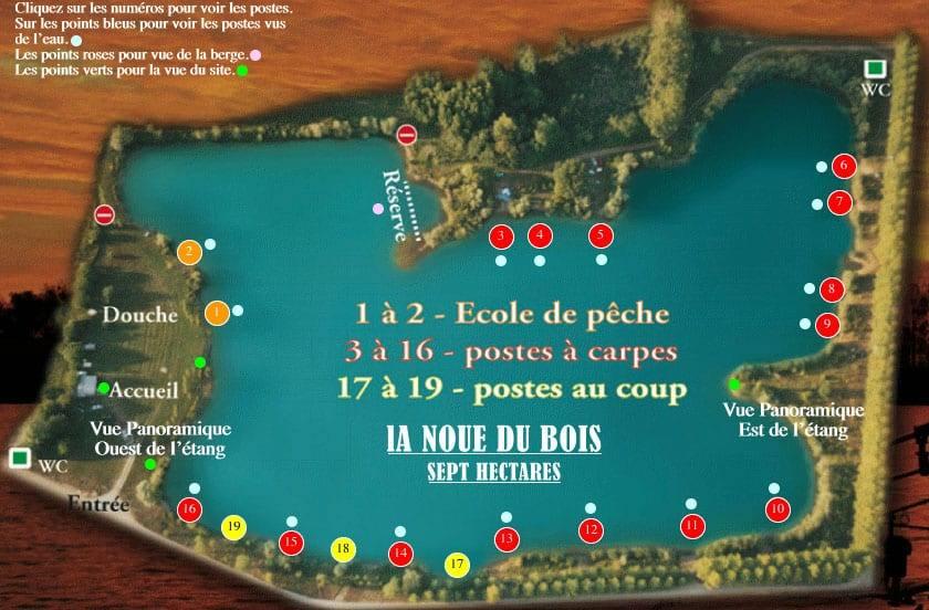 Etang de la Noue du Bois - Lac privé - Yonne (89) 8