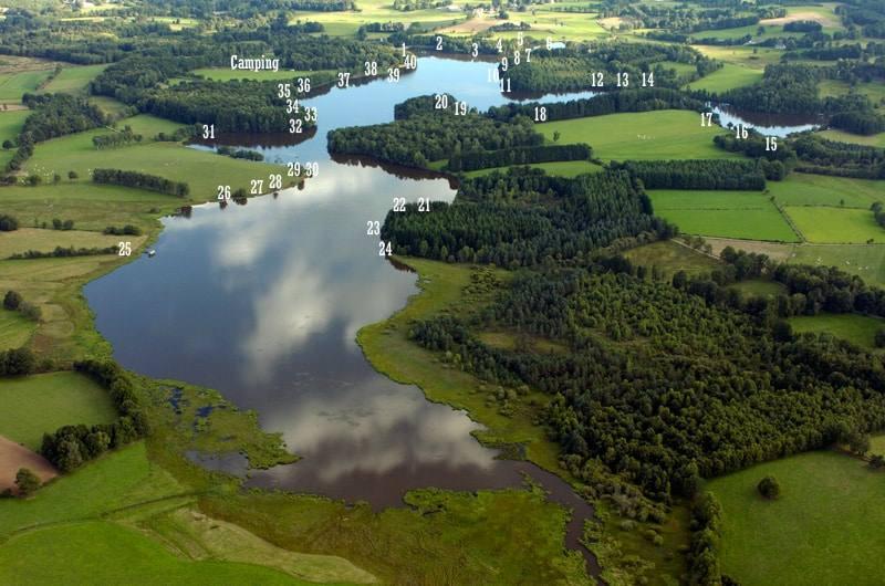 etang de la ramade lac priv creuse 23 colinmaire