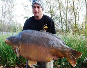 Nouveau record pour l'étang du Héron (Les étangs de l'Abbaye) : 36,14 kilos 1