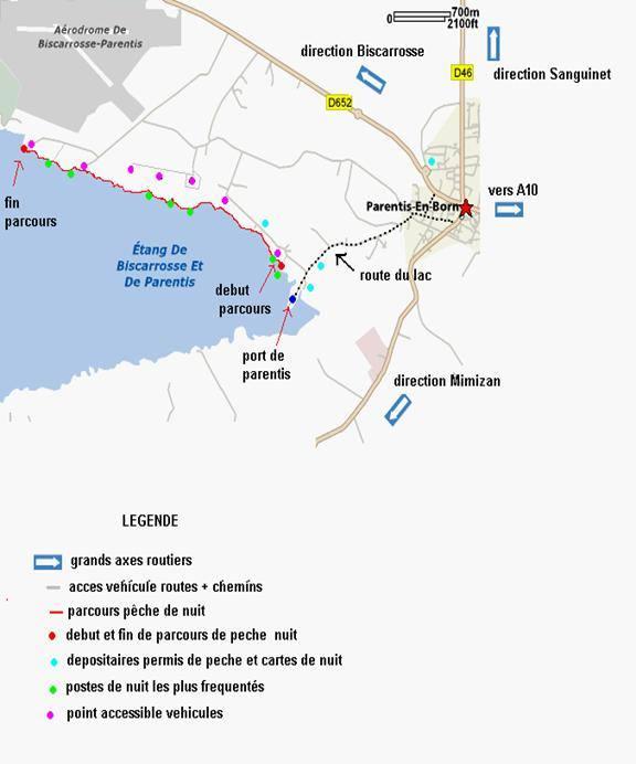 Lac de Biscarosse et de Parentis - Grand lac public - Landes (40) 7