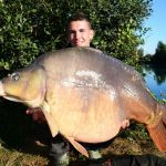 Pierre Meyer capture la carpe record de CarpaSens : Anny 30,3 kilos