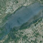 Lac Saint Pierre – Grand lac à l'étranger – Québec – Canada