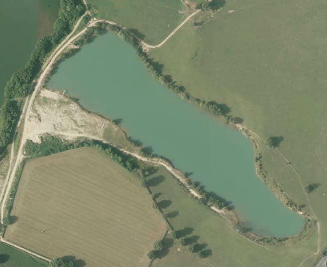lacs prives est france graviere des rives lac prive saone loire