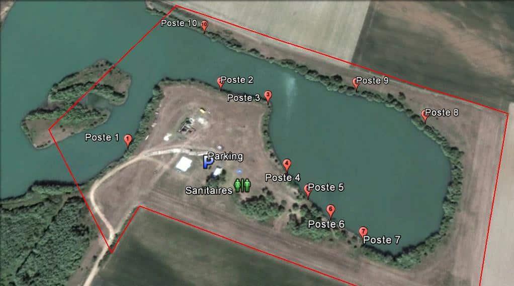Etang Des Avant Gardes – Lac privé – Loiret (45) 1