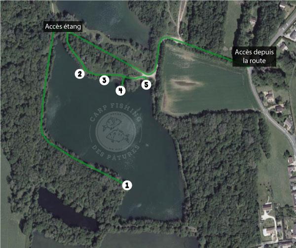 Etang Carp Fishing des Pâtures – Lac privé – Eure et Loir (28) 10