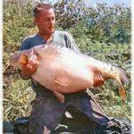 Carpe miroir 35,300 Kgs – Lac de Sarulesti – Henk van Doorn