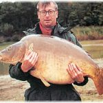 Carpe miroir 33,8 Kgs – Lac de la forêt d'Orient – Jean Alexis Delabarre