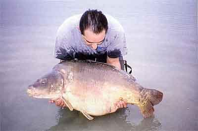Carpe record du lac d'Orient