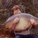 Carpe miroir 34,450 Kgs – Lac de Saint-Cassien – Kevin Ellis