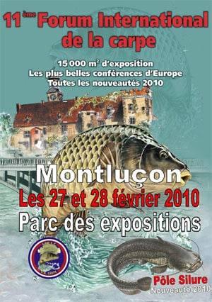 Salon de Montlucon aura lieu les 27 et 28 février 2010 1