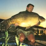 Carpe miroir 33 Kgs – Lac de Sarulesti – Philippe Barabinot