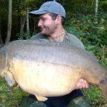 Carpe miroir 29,9 Kgs – Lac de Madine – Markus Dorn