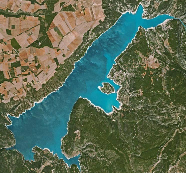 Lac de sainte croix grand lac public var 83 - Office du tourisme lac de sainte croix ...