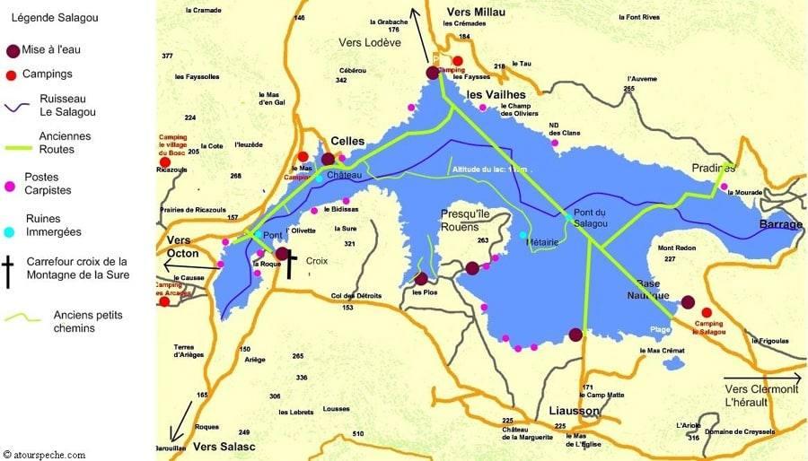 Lac du Salagou - Grand lac public - Hérault (34) 11
