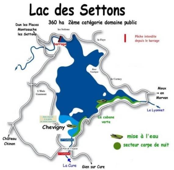 Lac des Settons - Grand lac public - Nièvre (58) 1