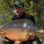 Carpe miroir 31,5 Kgs – Etang du Héron (Les étangs de l'Abbaye) – Lac privé – Carpiste Hollandais