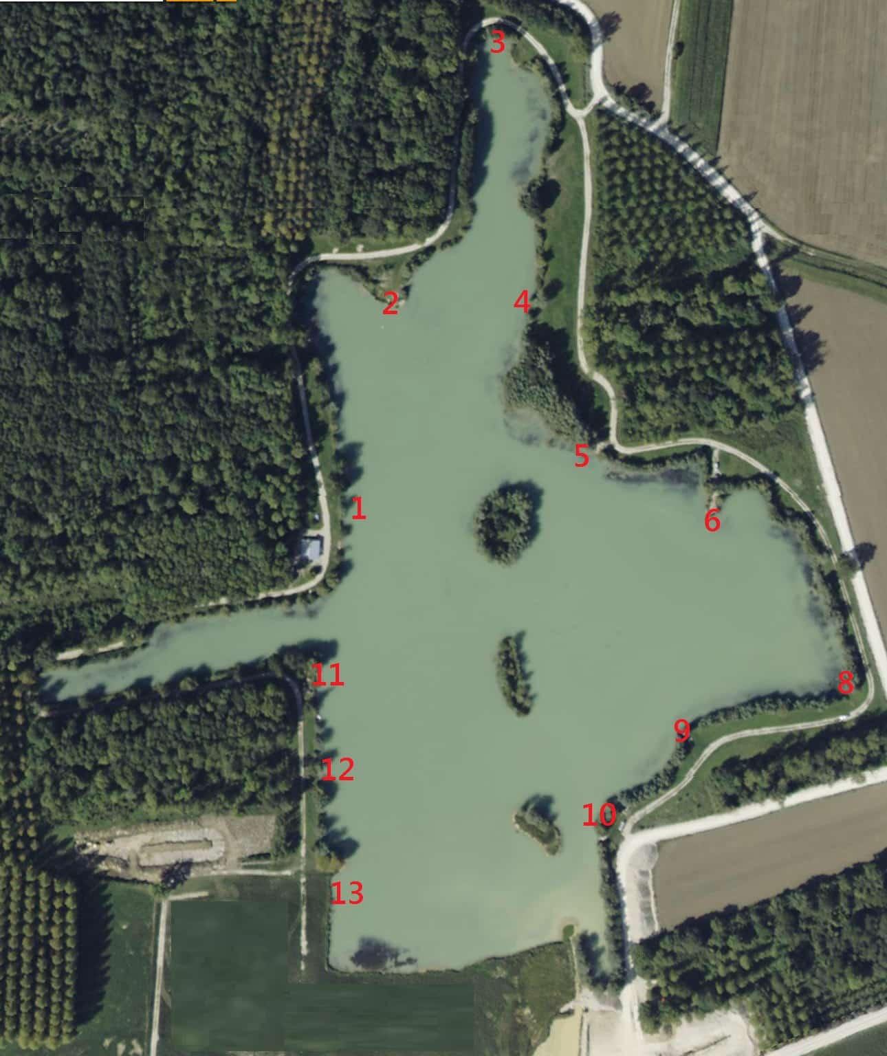Carrière des Grands Prés - Lac privé - Marne (51) 1