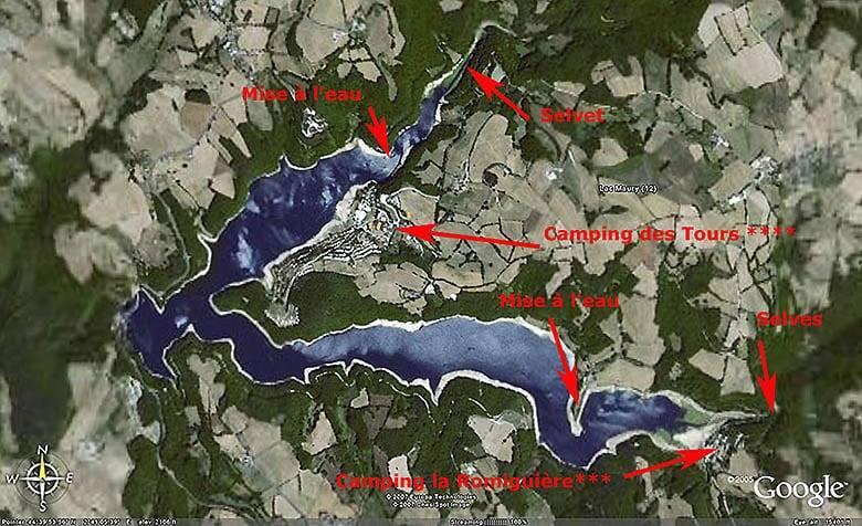 Lac de Maury - Grand lac public - Aveyron (12) 1