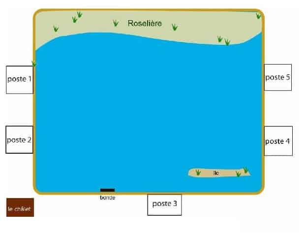 Etang du Mez Savary - Lac privé - Indre (36) 1