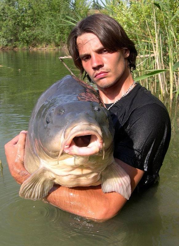 Carpe miroir 30,100 Kilos – Lac public non communiqué – Raphaël Biagini 3
