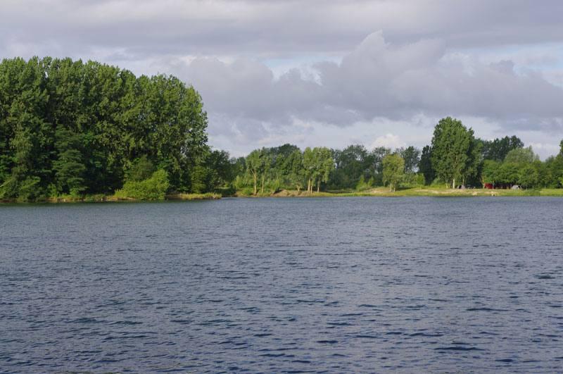 l'étang de la Vigne Feuillette
