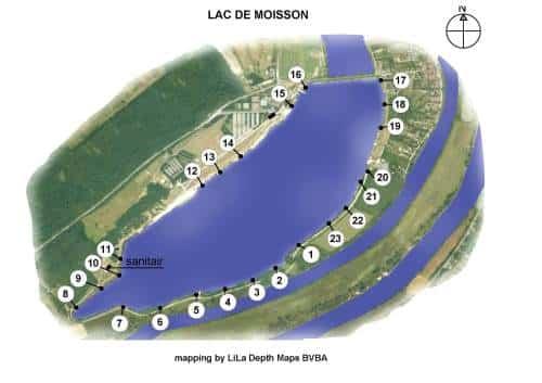 Lac de Moisson Lavacourt - Grand lac public - Yvelines (78) 1