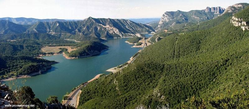 Lac d'Oliana - Grand lac public - Espagne – Lérida Catalogne 1