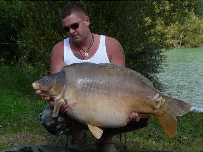 Nouveau record pour le lac de Gigantica : 75 livres, soit 34 kilos 4