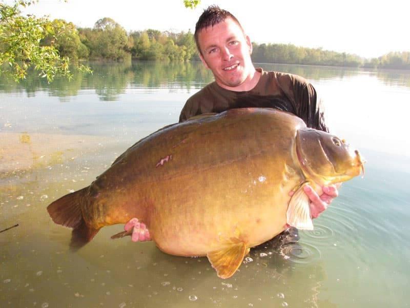 Nouveau record pour le lac de Gigantica : 75 livres, soit 34 kilos 8