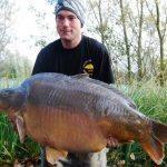 Nouveau record pour l'étang du Héron (Les étangs de l'Abbaye) : 36,14 kilos