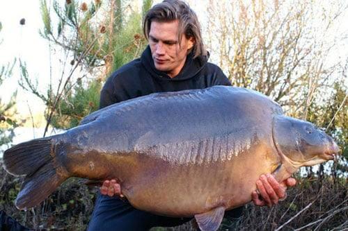 Nouveau record pour l'étang du Héron (Les étangs de l'Abbaye) : 36,8 kilos 2