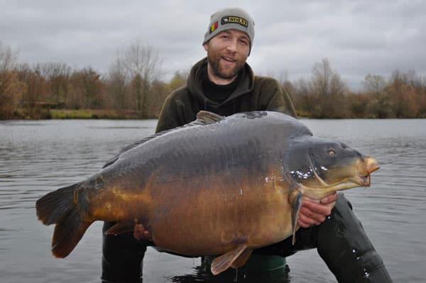 Nouveau record pour l'étang du Héron (Les étangs de l'Abbaye) : 37,950 kilos 2
