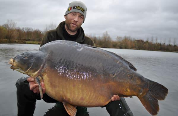 Nouveau record pour l'étang du Héron (Les étangs de l'Abbaye) : 37,950 kilos 3