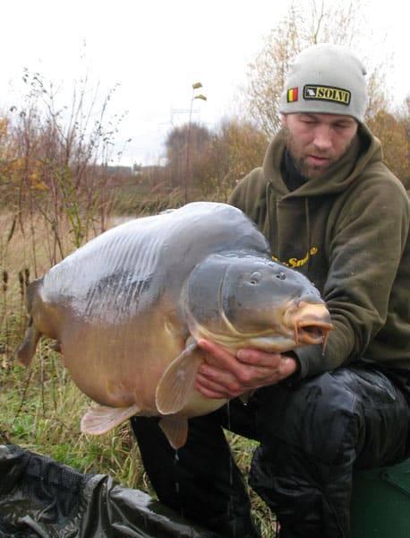 Nouveau record pour l'étang du Héron (Les étangs de l'Abbaye) : 37,950 kilos 6