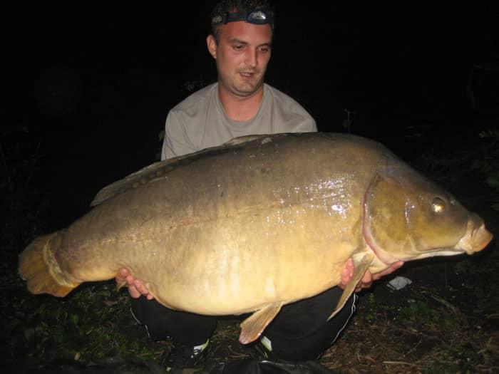 Queue coupée capturée à son poids record : 29 kilos 5