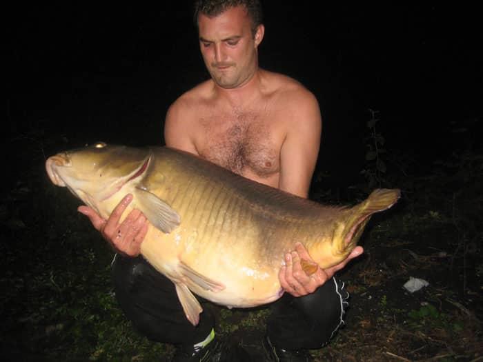 Queue coupée capturée à son poids record : 29 kilos 8