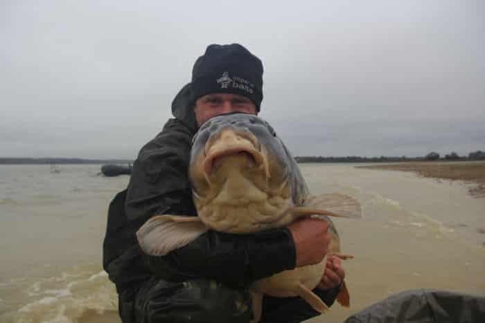 La commune star du lac du Der capturée à son poids record : 35,8kgs 3