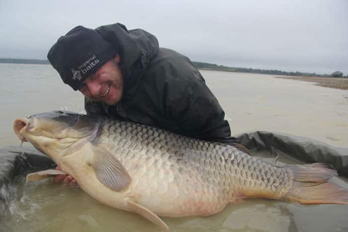 La commune star du lac du Der capturée à son poids record : 35,8kgs 5