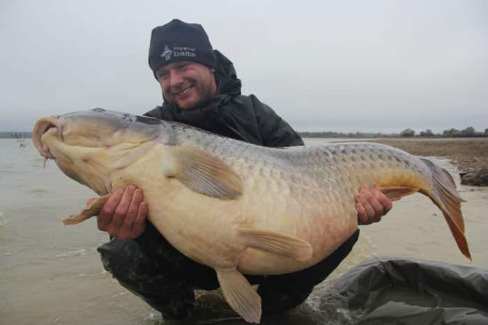 La commune star du lac du Der capturée à son poids record : 35,8kgs 6