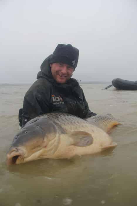 La commune star du lac du Der capturée à son poids record : 35,8kgs 8