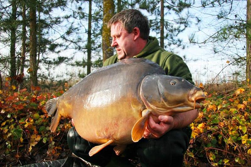 Nouveau record pour les étangs de l'Abbaye : 42,8 kilos 4