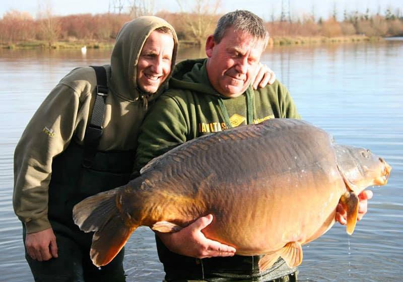 Nouveau record pour les étangs de l'Abbaye : 42,8 kilos 5