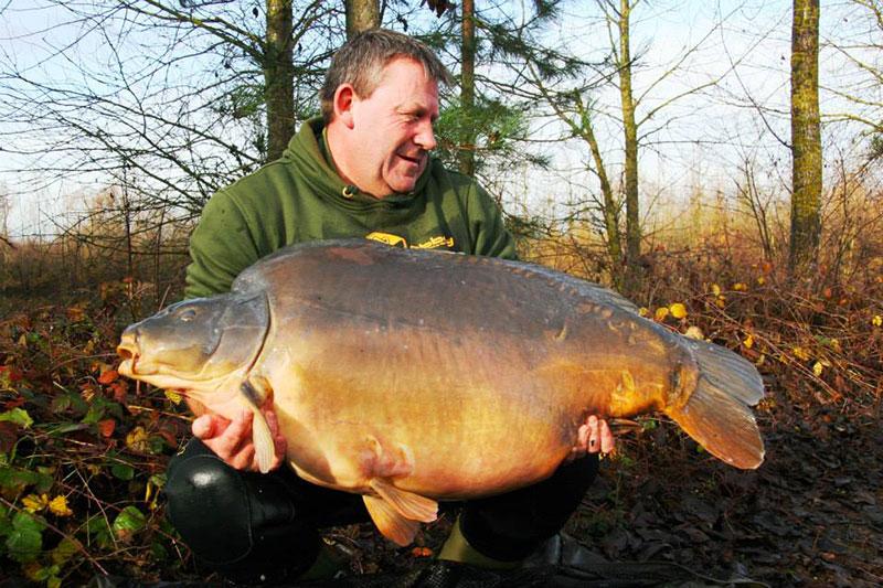 Nouveau record pour les étangs de l'Abbaye : 42,8 kilos 6
